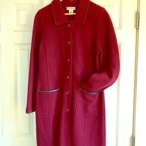 Sarah Spencer Wool Coat